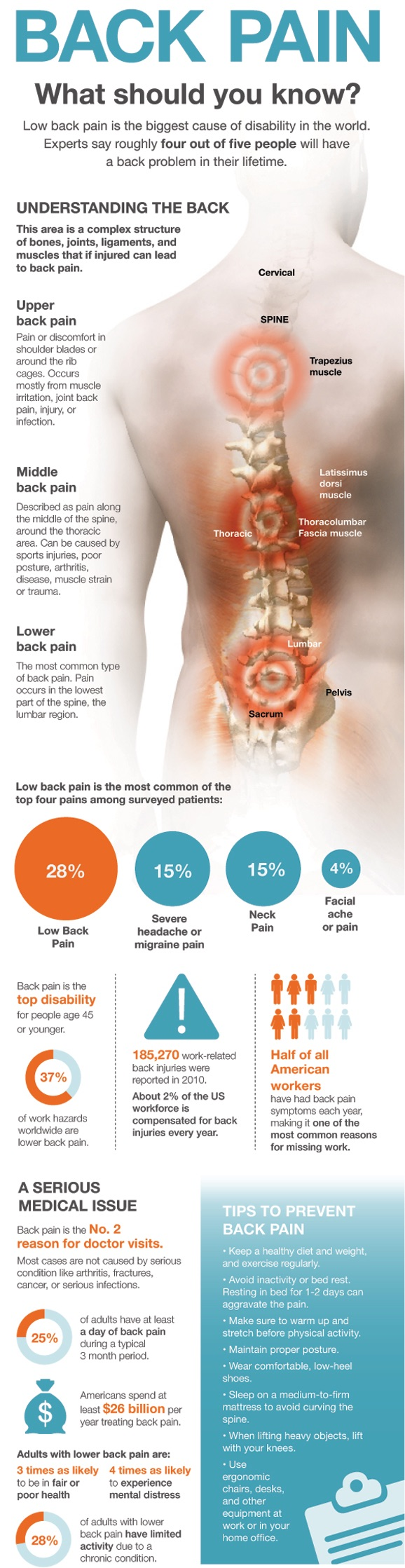 back pain treatment graphic